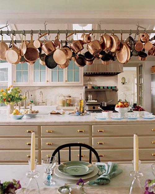Kitchen at Turkey Hill, Home of Martha Stewart