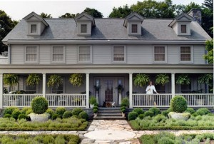 Martha Stewart's Farm Home, Cantitoe Corners in Bedford