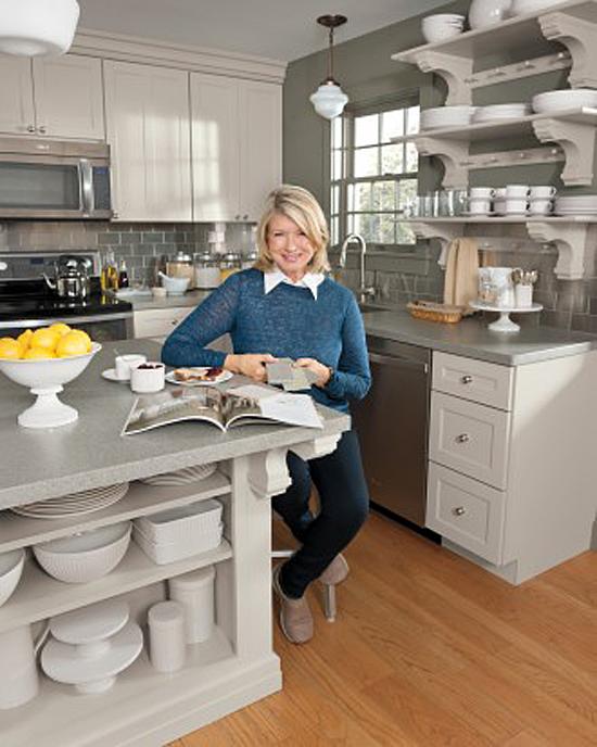 Martha Stewart's Kitchen at Cantitoe Corners in Bedford