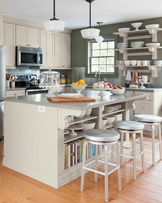 Martha Stewart's New Kitchen at Cantitoe Corners in Bedford