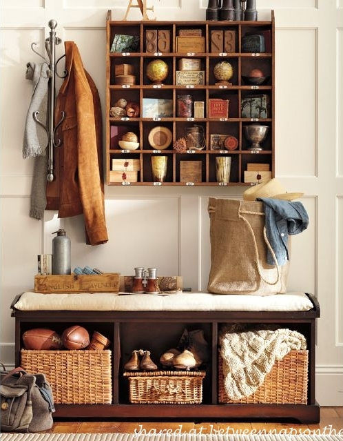 Mud Room Cubby Organizer