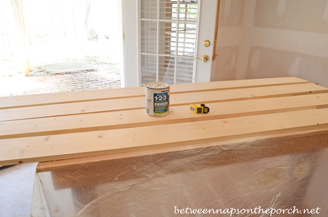 Priming Boards to Build a Pottery Barn Inspired Cubby Organizer_wm