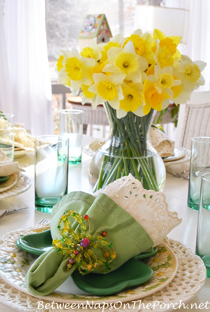 St. Patrick's Day Table for Spring