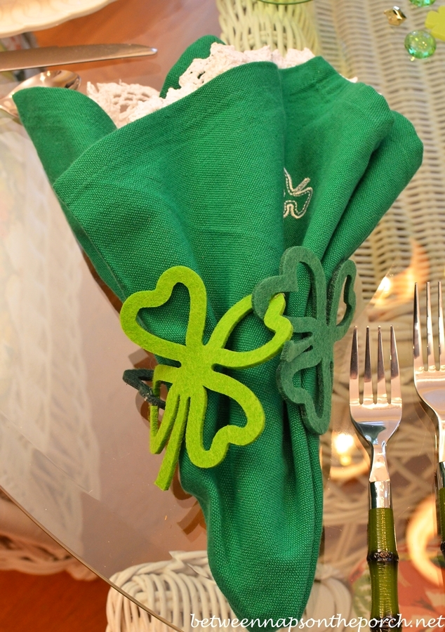 St. Patrick's Day Tablescape 2
