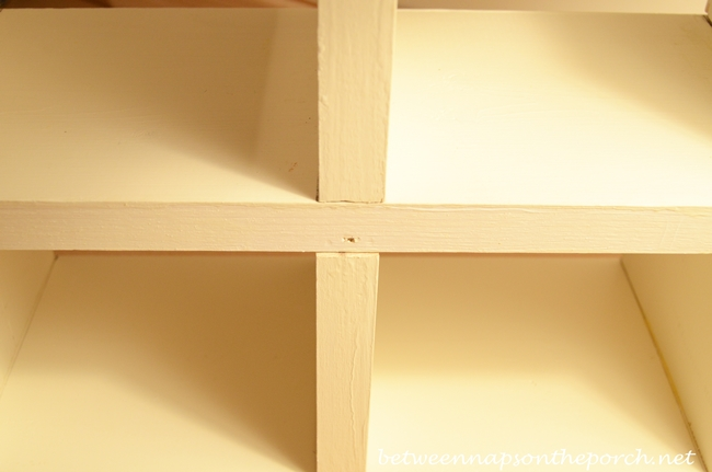 Toe Nail the Rows For Cubby Organizer Together_wm
