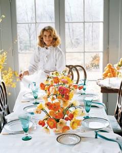 Turkey Hill Dining Room Early Days, Martha Stewarts Home