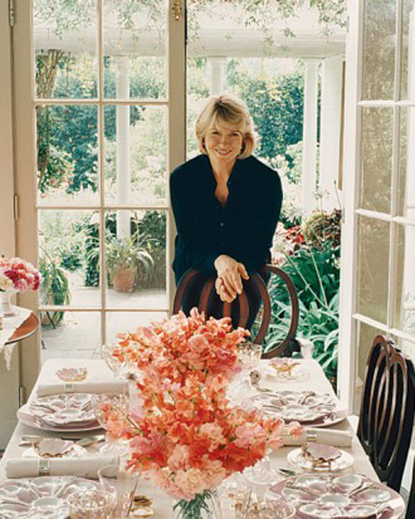 Turkey Hill Dining Room Later Years, Martha Stewarts Home