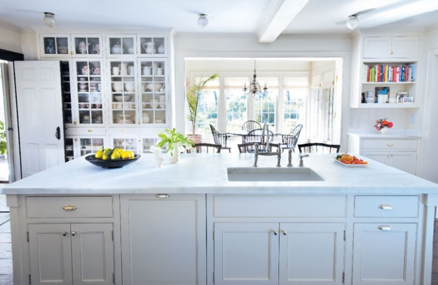 Turkey Hill Kitchen After Renovation, Martha Stewart's Home