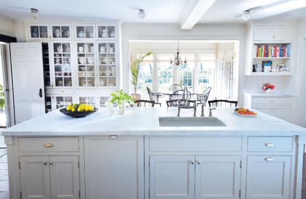 Turkey Hill Kitchen After Renovation, Martha Stewart's Home