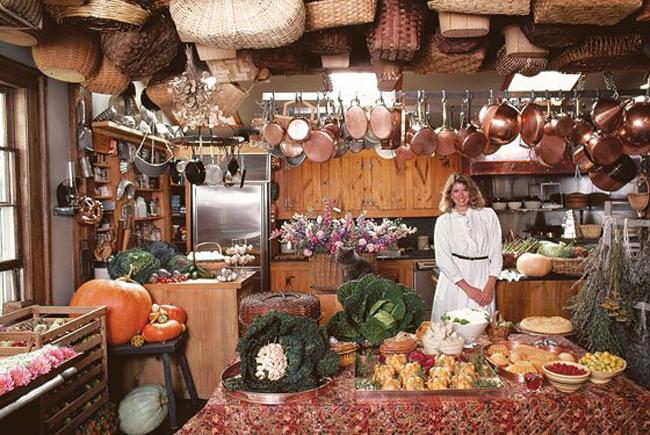 Turkey Hill Kitchen, Martha Stewarts Home