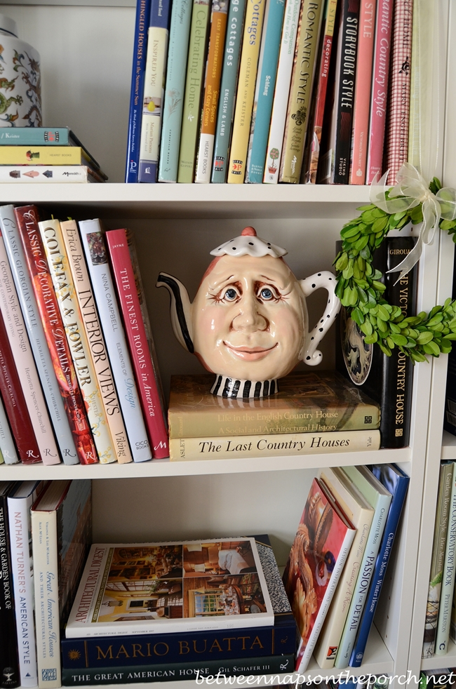 Whimsical Teapot with Face 2