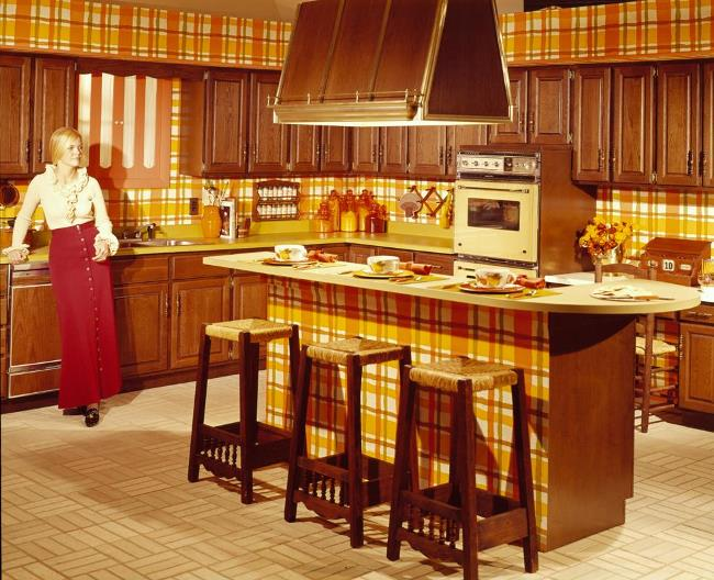 Kitchen design from the 1940 39 s through the 1970 39 s for Kitchen design 70s