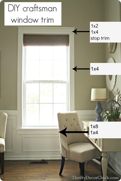 Adding Molding and Trim to a Window
