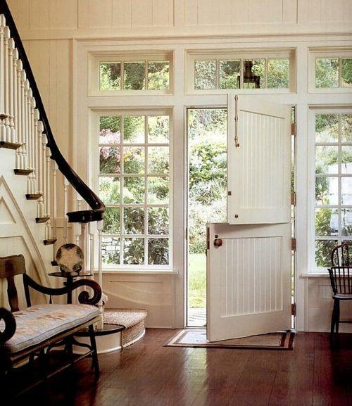 Beautiful Front Dutch Door