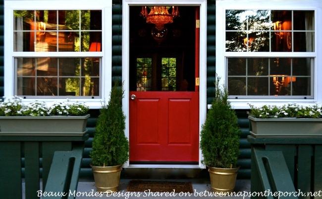 Dutch Door With Wreath (Between Naps On The Porch)