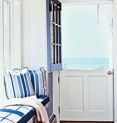 Dutch Door on Beach Cottage