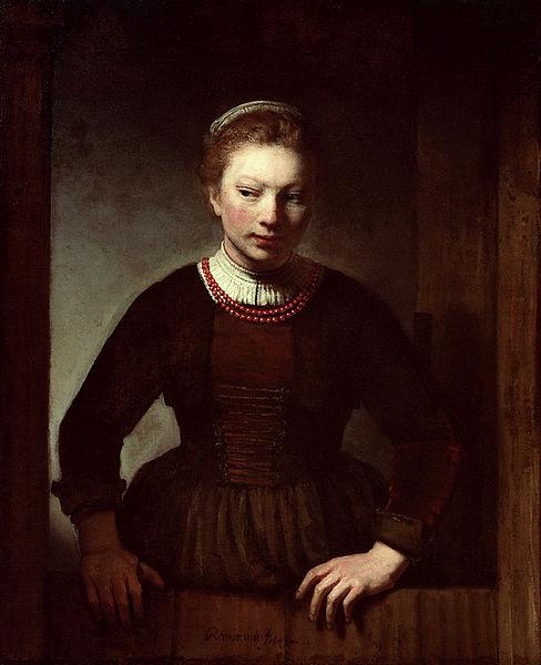 Dutch Painting of a Dutch Door