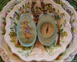 Easter Bunny's Magic Compass, An Easter Tablescape