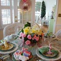 3 Easter Spring Table Settings