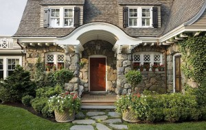 Gambrel Design Home with Beautiful Gardens and Landscaping 6