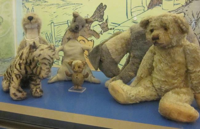 Original Winnie the Pooh Stuffed Toys