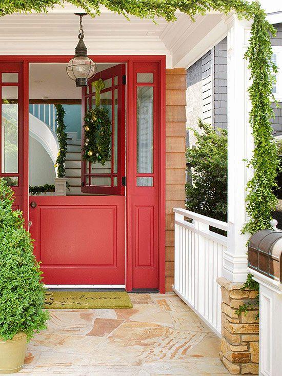 Red Dutch Door