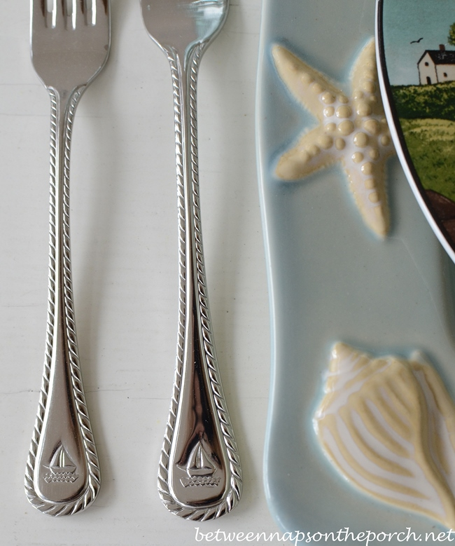 Sailboat Nautical Flatware