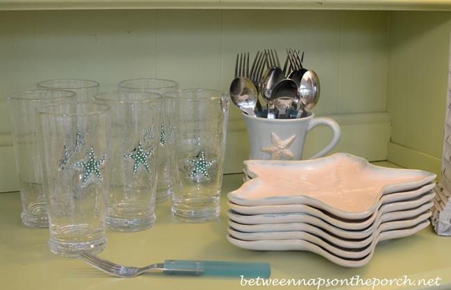 Shell Glasses and Starfish Plates