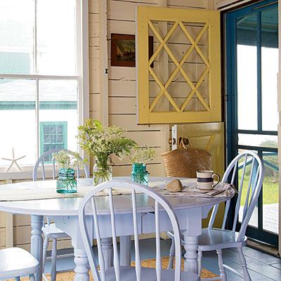 Yellow Dutch Door