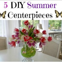 5 DIY Summer Centerpieces 2