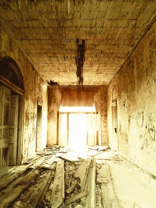 Arlington Foyer After Fire, Natchez, Mississippi 2