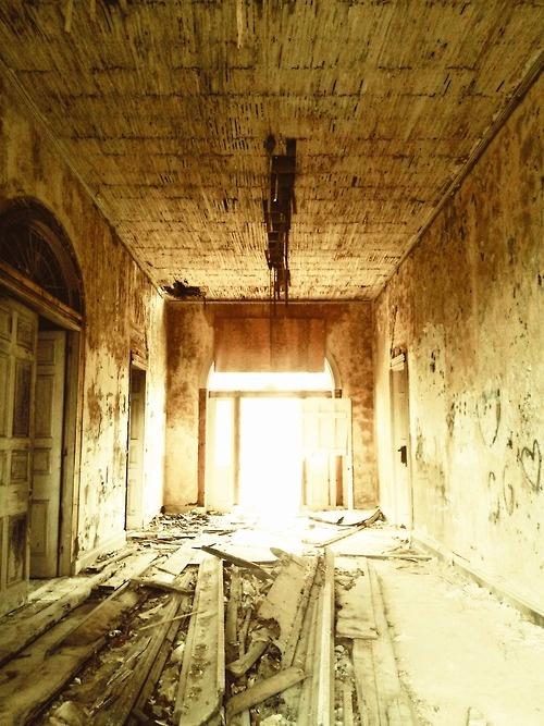 Arlington Foyer After Fire, Natchez, Mississippi 2