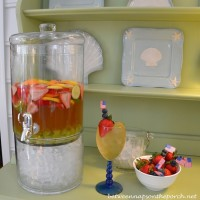 Refreshing Sangria, Perfect Beverage For A Summer Party