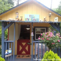 A Playhouse Adds Whimsy to the Garden