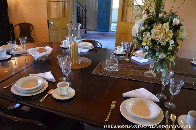 San Francisco Plantation Garyville Louisiana Dining Room And