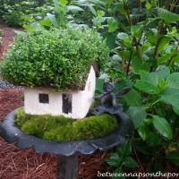 Faerie Houses in the Garden, A Sunday Garden Tour