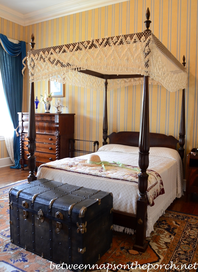 Greenwood Plantation Bedroom, St. Francisville, Louisiana