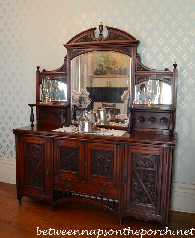 Greenwood Plantation Dining Room Sideboard, St. Francisville, Louisiana