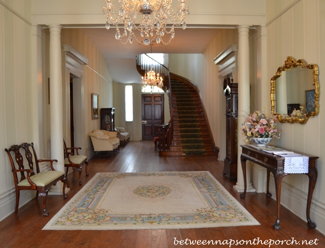 Greenwood Plantation Foyer