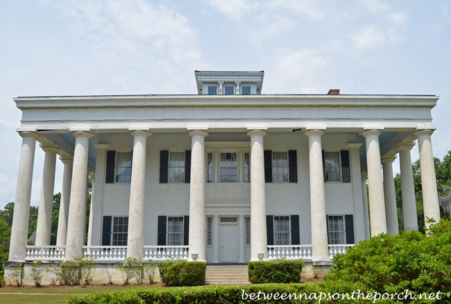 Greenwood Plantation Greek Revival Home in St. Francisville, Louisiana