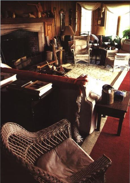 Katharine Hepburn's Fenwick Connecticut Home Before Renovations