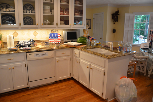 Kitchen After Memorial Day Party