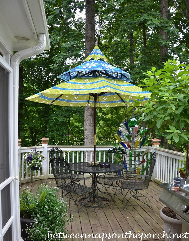 Pagoda Umbrella for Deck