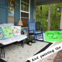 Jazzing Up a Porch For Springtime Enjoyment