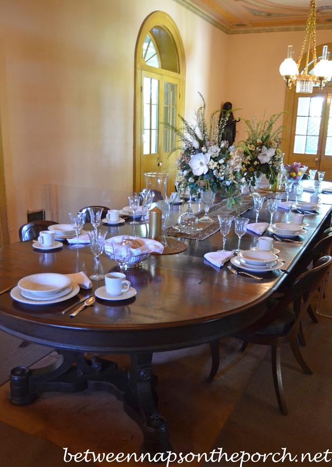 San Francisco Plantation Dining Room, Louisiana_wm