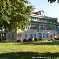 Dining in Beautiful San Francisco Plantation, Garyville, Louisiana