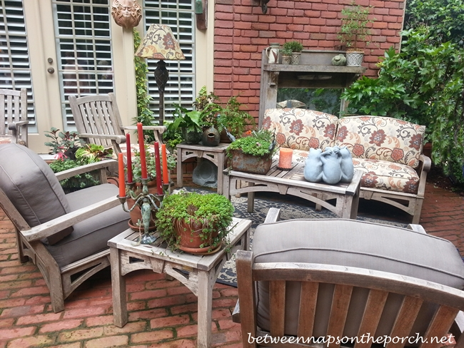 Seating and Furniture for the Garden