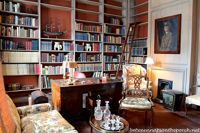 Beautiful Home Library of General L. Kemper Williams_wm