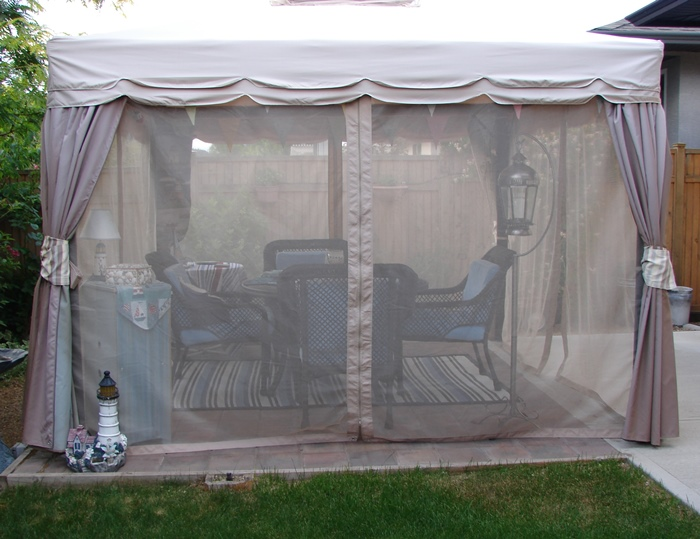 Canopy Screened Room For Outdoor Dining