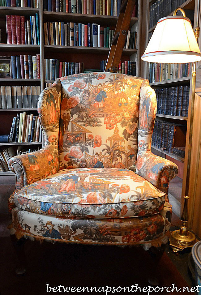 Chair in General Kemper Williams Library Study